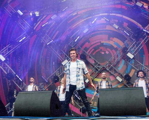ВладиМир на концерте в День города